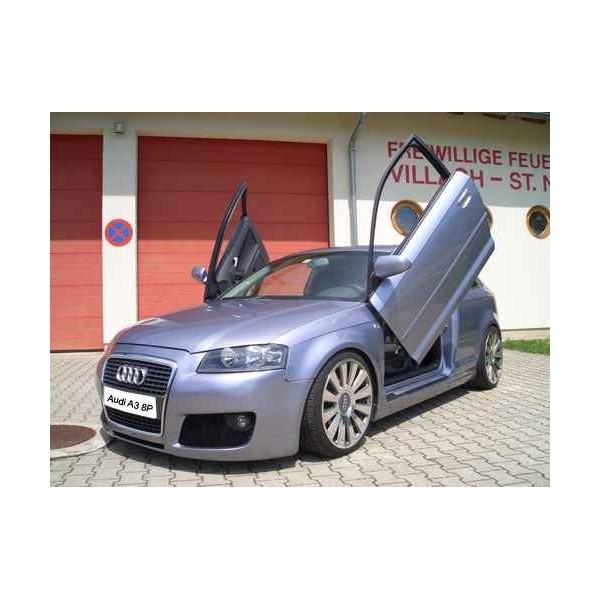 Voorbumper Audi A3 8P Sportface IN-Tuning