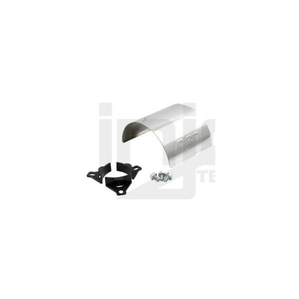 Injen Universal Aluminum air filter heat shield polished