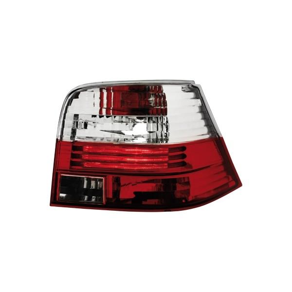 Achterlichten VW Golf IV rood/wit