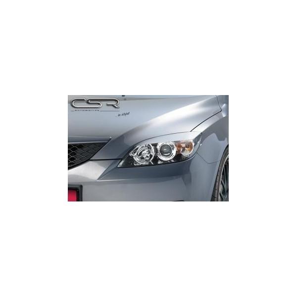 Koplampspoilers Mazda 3 (alle modellen) 2003-2009 ABS