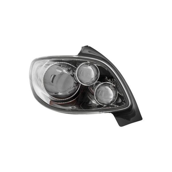Achterlichten Peugeot 206 Chroom