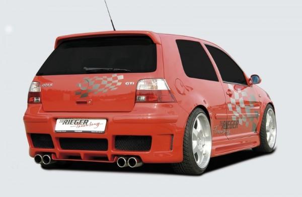 Achterbumper VW Golf IV RS four style