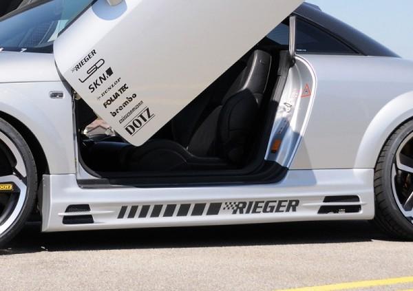 Zijskirts Audi TT Rieger