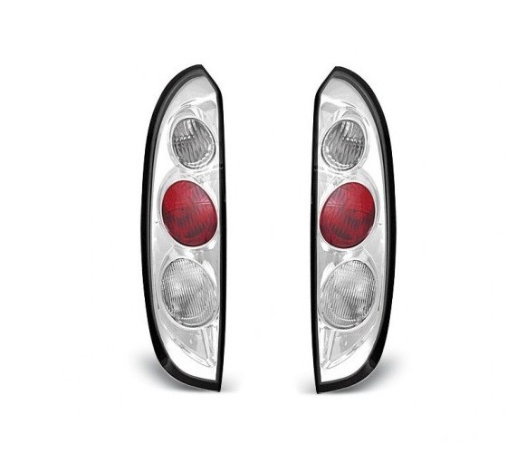 Achterlichten Opel Corsa C 3 deurs, lexus chroom