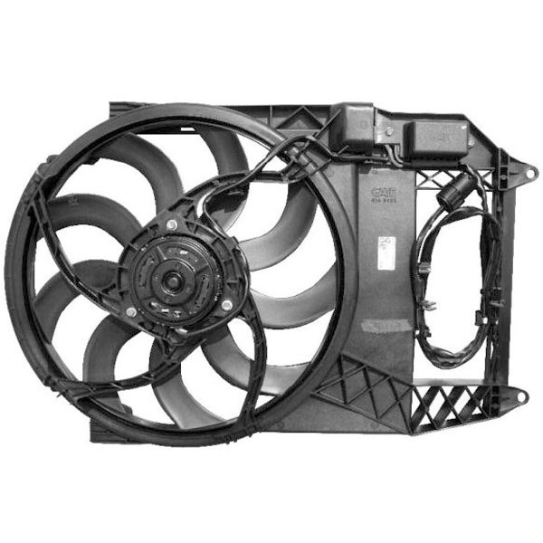 Radiator FAN MINI 03-06 1.4 DIESEL +/-AC