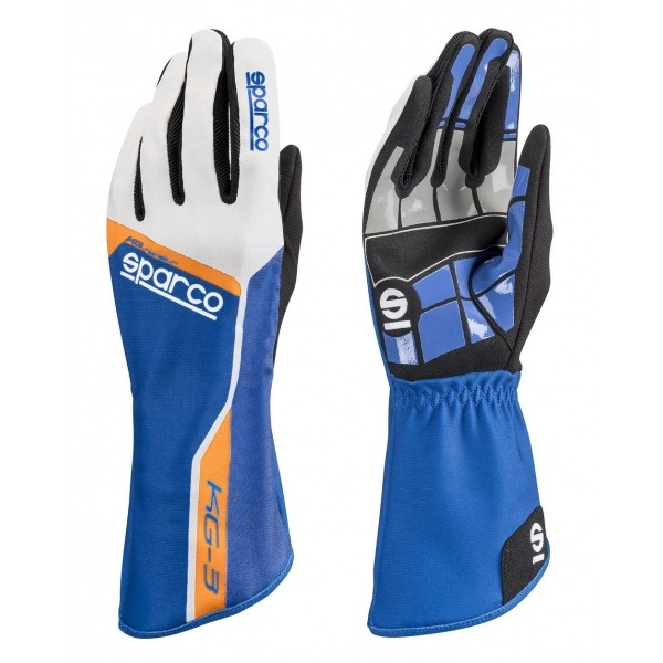 Sparco Gloves Track KG-3 Blauw