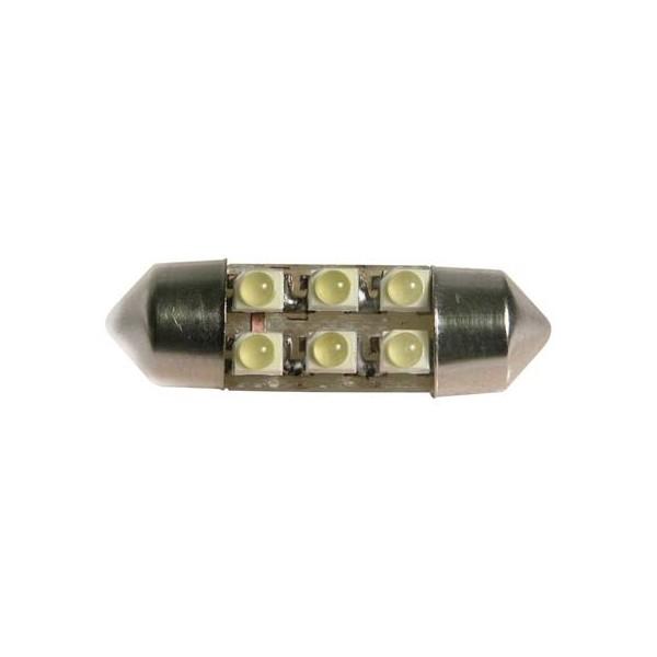 31mm 6 SMD LED white 12V
