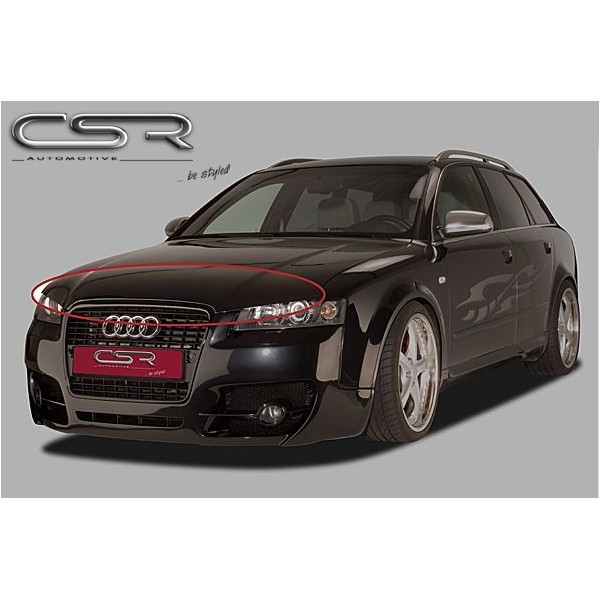 Motorkapverlenger Audi A4 8E metaal SF-Line