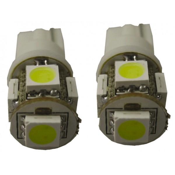 5 SMD lamp T10 wit 12V