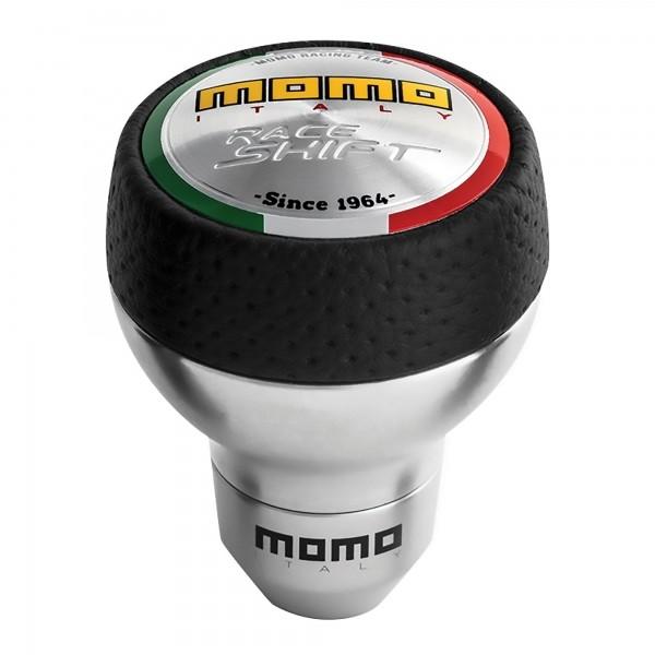 Momo Pook Race Shift Zwart/Leder