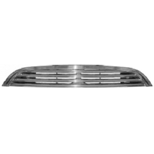 Radiator Grill MINI 01.06 Chroom/ZWART