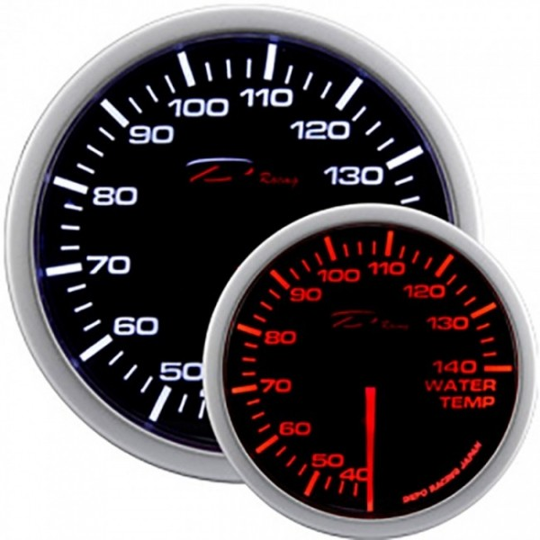 Depo Racing watertemperatuur meter WA-Series Instrument