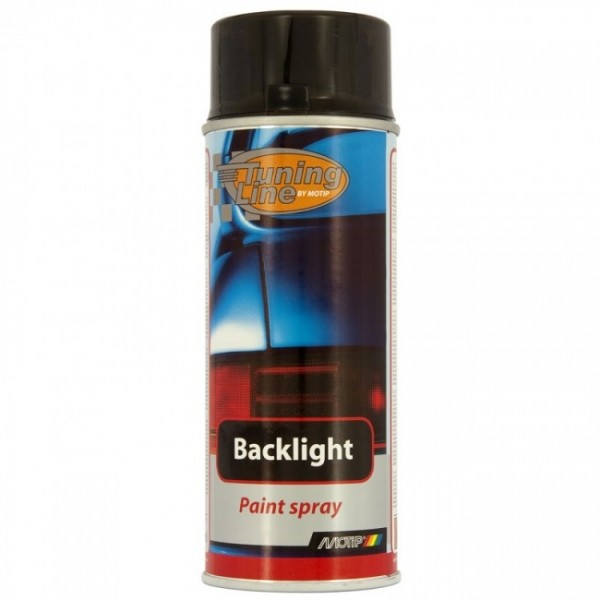 BackLight Spray zwart/smoke 400ml