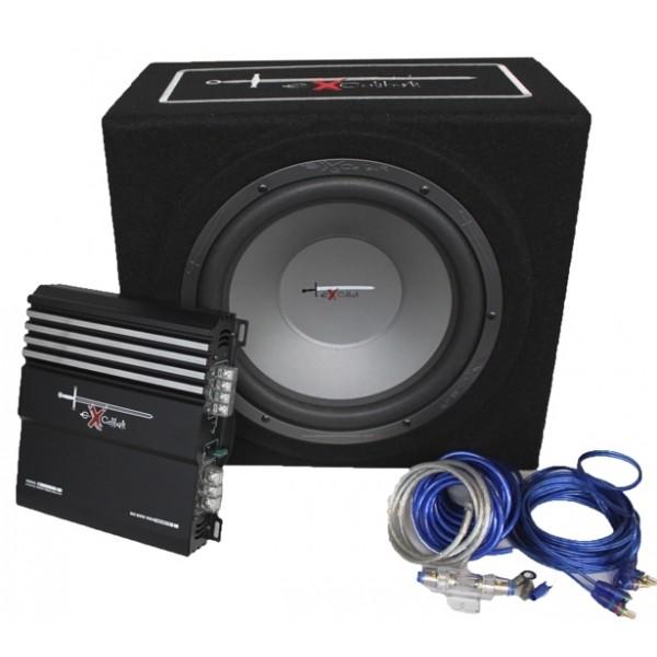 Excalibur x3 bass pakket 1000 watt
