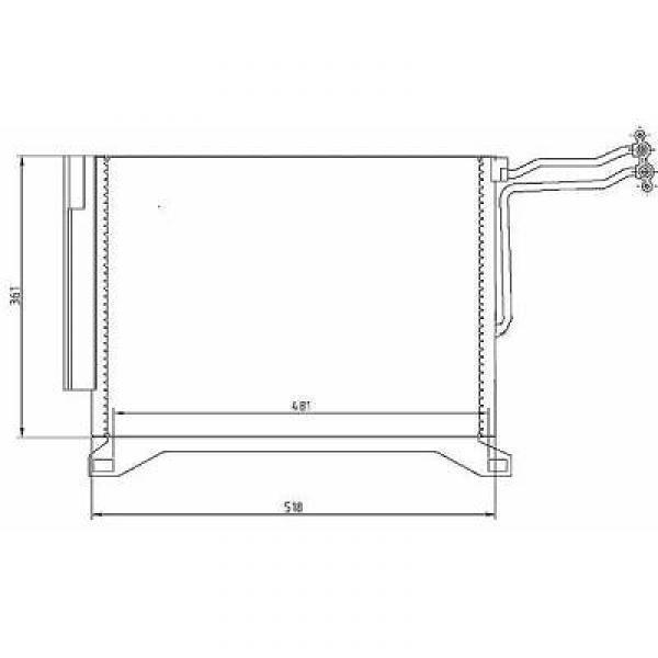 Condensator MINI 01->> 1.4 DIESEL