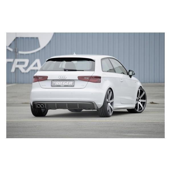 Rieger Achteraanzet Audi A3 8V 2012- Carbon