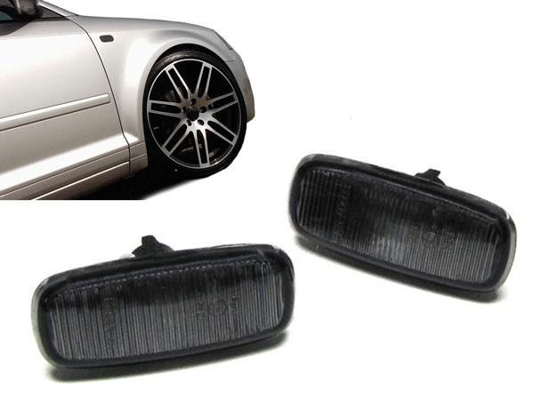 Zijknipperlichten Audi A6 zwart
