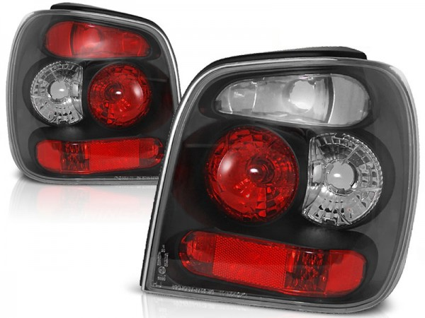 Achterlichten VW Polo 6N lexus zwart