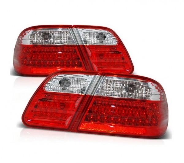 Achterlichten LED Mercedes E-Class W210 rood
