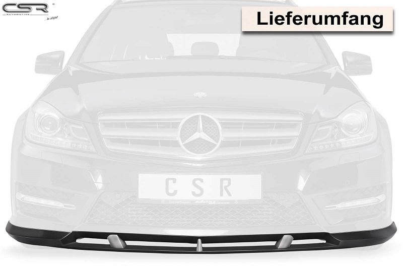 Verbazingwekkend Voorspoiler Mercedes C-klasse AMG-line W204 CSR FA270 LX-62