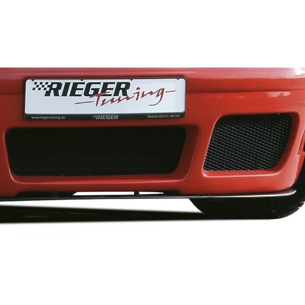 Spoilerzwaard Carbon voor Voorbumper RS-4-Look VW Golf IV Rieger
