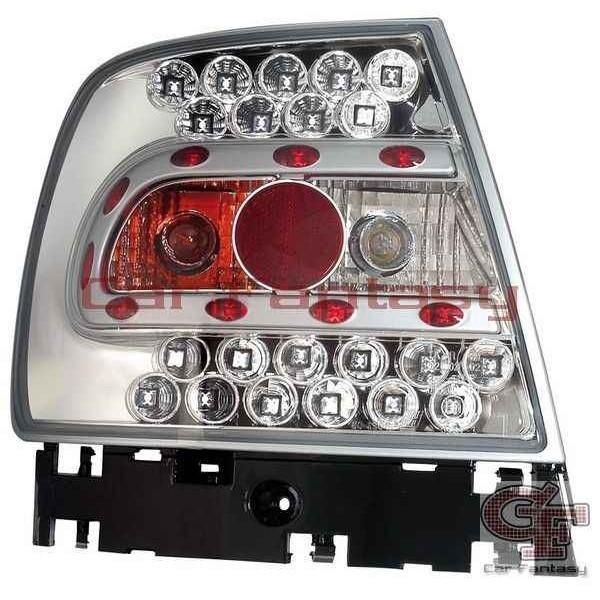 Achterlichten Audi A4 Limousine 95-01 LED classic chroom